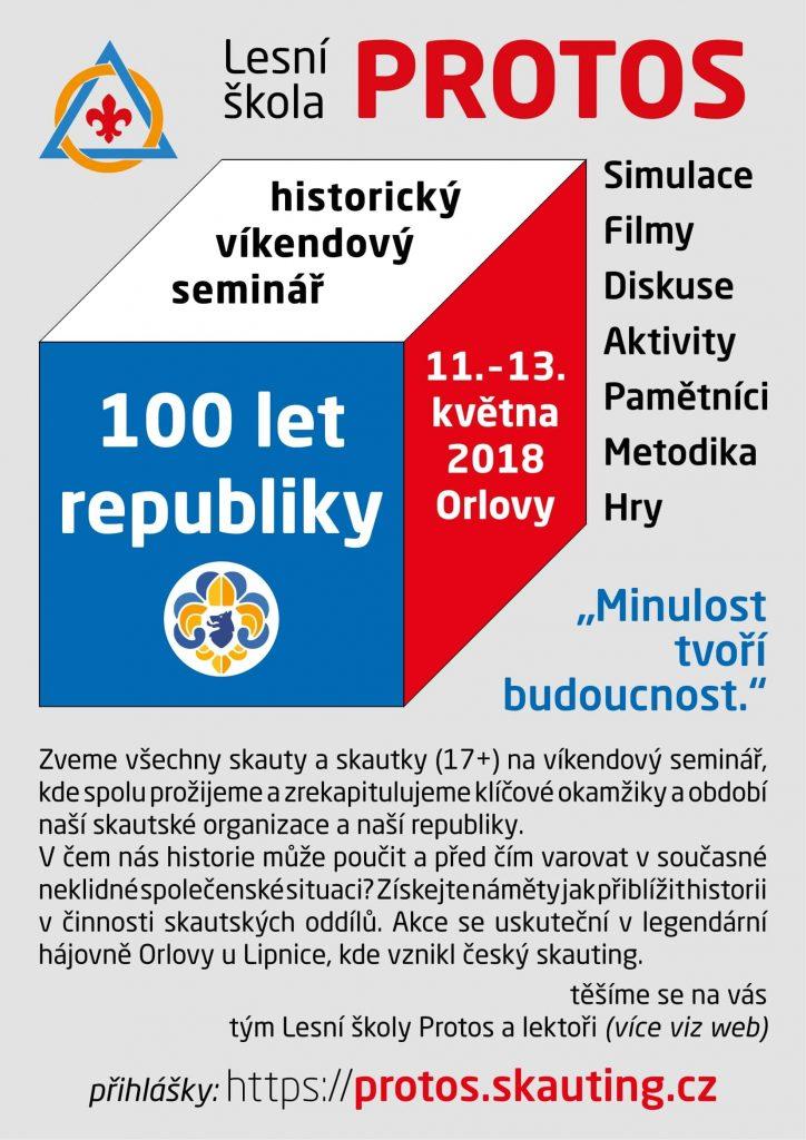 seminář 100LR 2018